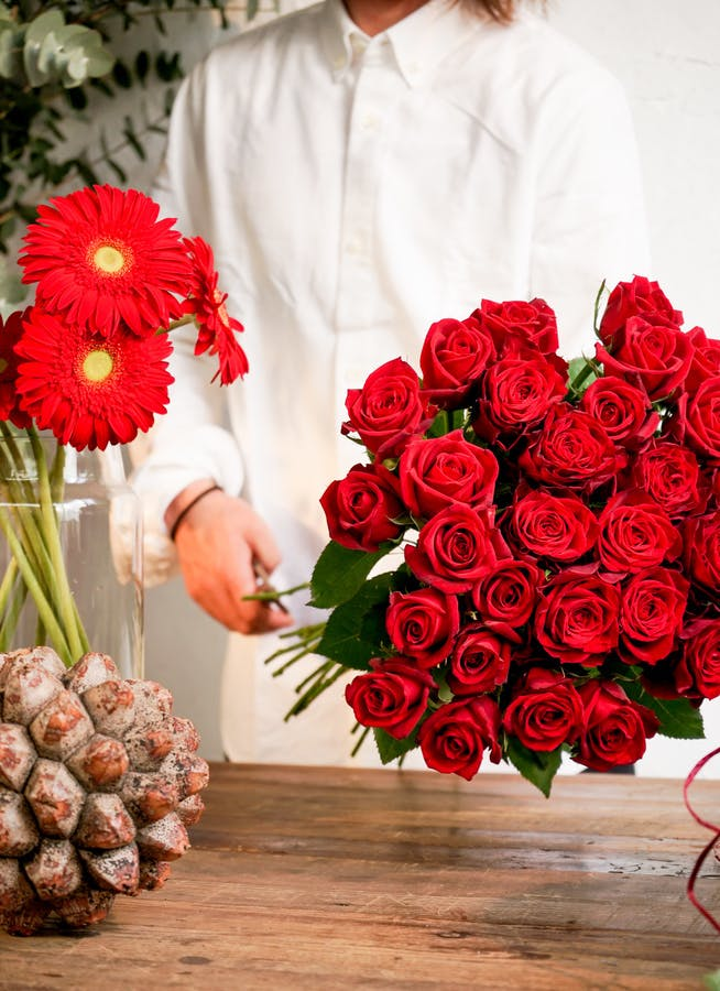 バラ 花束 レッド オーダーメイド本数 ご相談商品【ギフト用】