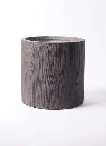 鉢カバー アルファ シリンダープランター ウッド 8号鉢用 #KONTON FM-003D36E