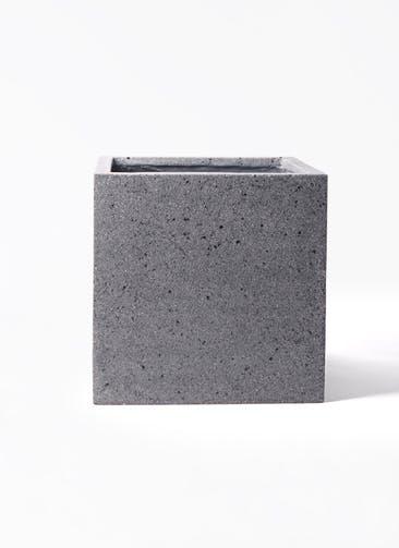鉢カバー キューブ ラテルストーン 10号鉢用 #KONTON FS-L02H40N