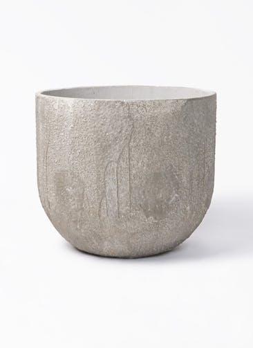 鉢カバー バル ユーポット 10号鉢用 アンティークセメント #KONTON VL-U01C42E