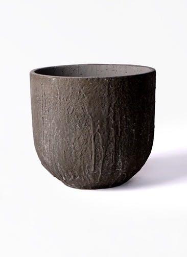 鉢カバー バル ユーポット  6号鉢用 アンティークセメント #KONTON VL-U01C28E