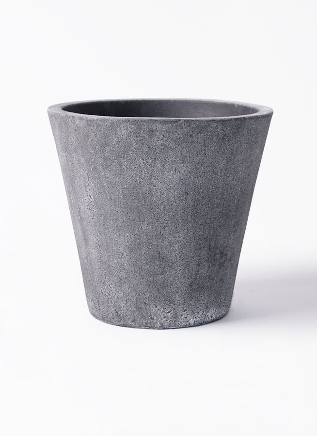 鉢カバー フォリオソリッド 10号鉢用 ブラックウォッシュ #GREENPOT EB-SL227043BLW
