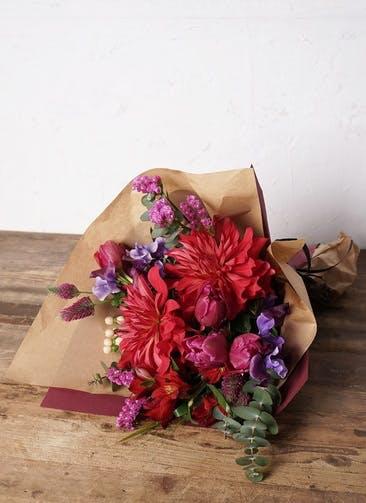 チューリップ 花束 ピンク M