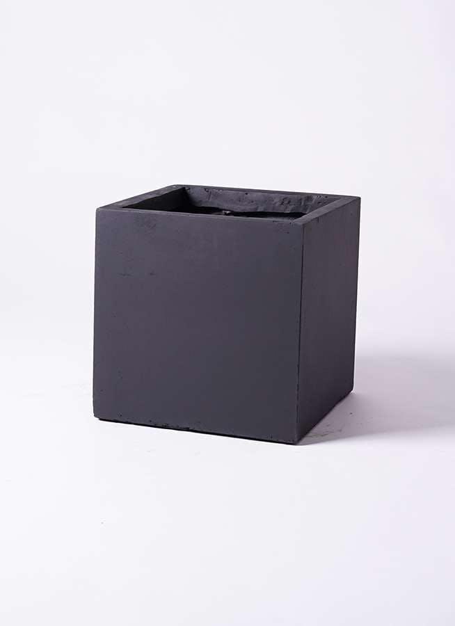 鉢カバー ベータ キューブプランター 8号鉢用 黒 #KONTON FM-002K36E