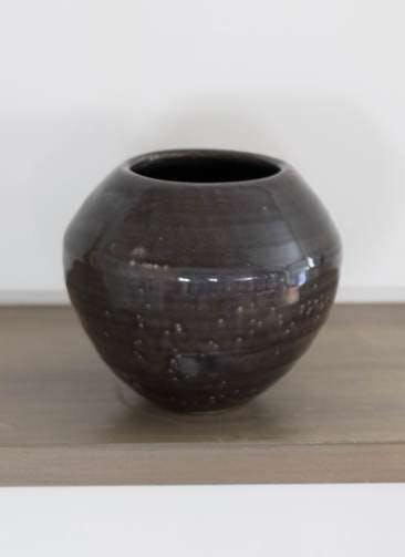 鉢カバー Antique Terra Cotta(アンティークテラコッタ) 3号鉢用 Black #stem C9385
