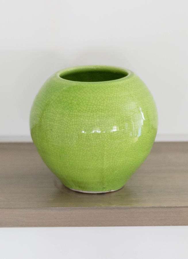 鉢カバー Antique Terra Cotta(アンティークテラコッタ) 3号鉢用 Green #stem C9385