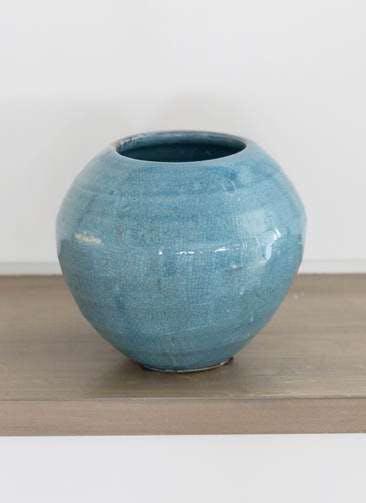 鉢カバー Antique Terra Cotta(アンティークテラコッタ) 3号鉢用 Blue #stem C9385