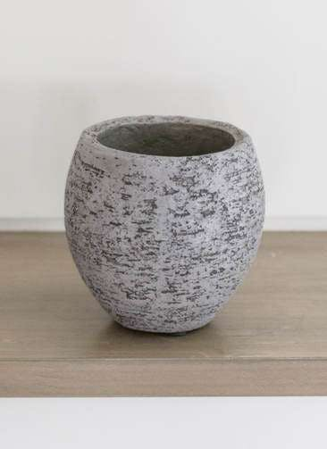 鉢カバー  Eco Stone(エコストーン) 3号鉢用 Gray #stem F1808