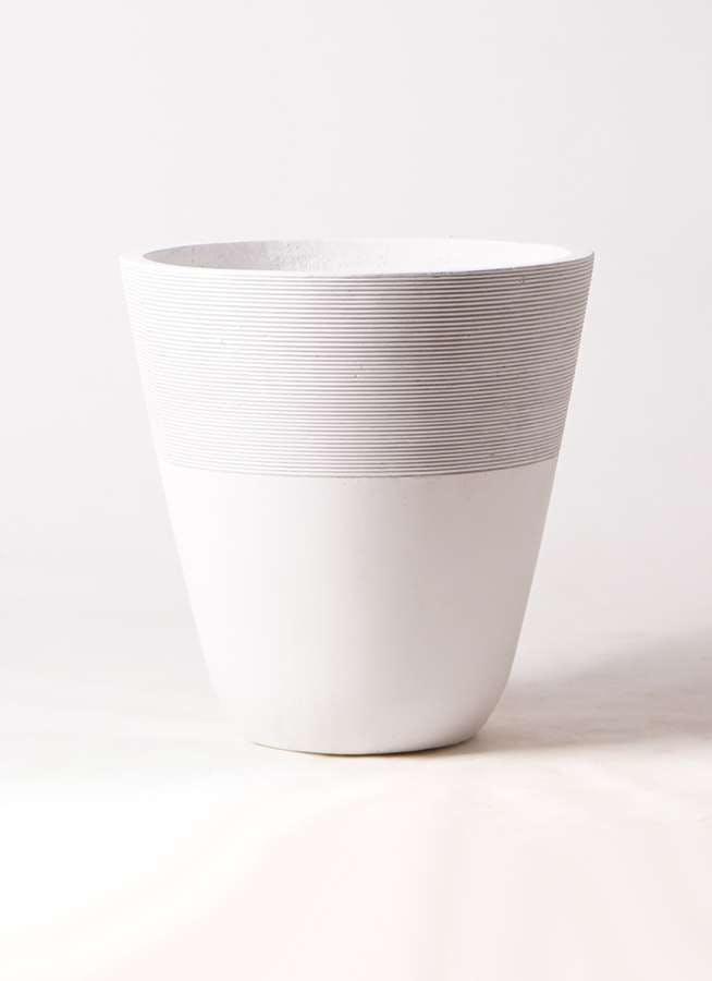 鉢カバー ジュピター 10号鉢用 白 #ミュールミル TL001-1LWh