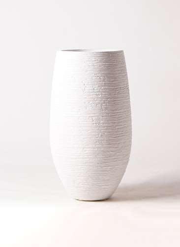鉢カバー  フォンティーヌトール 8号鉢用 白 #ミュールミル TL032-1Wh