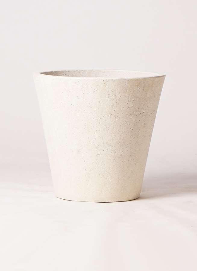 鉢カバー フォリオソリッド 10号鉢用 クリーム #GREENPOT EB-SL227043CR
