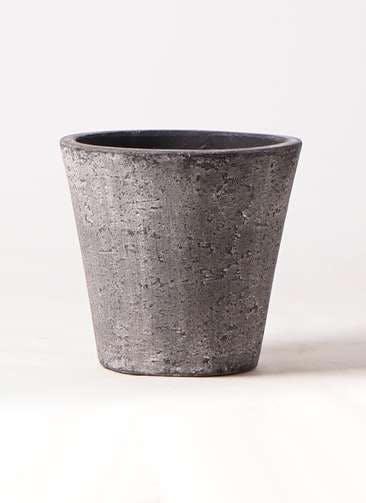 鉢カバー フォリオソリッド 7号鉢用 ブラックウォッシュ #GREENPOT EB-SL227031BLW