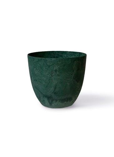 鉢カバー アートストーン ボーラカバー 7号鉢用 グリーン #GREENPOT AS-190128GN