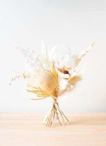 ドライフラワー 花束 ホワイト M