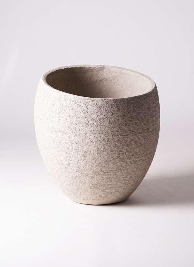 鉢カバー Eco Stone(エコストーン) 10号鉢用 Light Gray #stem F1813
