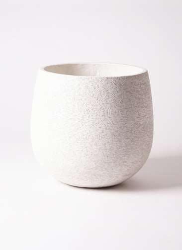 鉢カバー Eco Stone(エコストーン) 10号鉢用 white #stem F1807