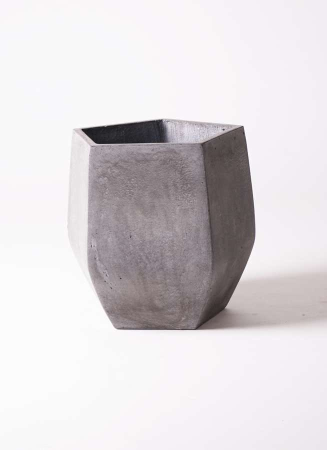 鉢カバー FiberCray(ファイバークレイ) 8号鉢用 Gray #stem F9801
