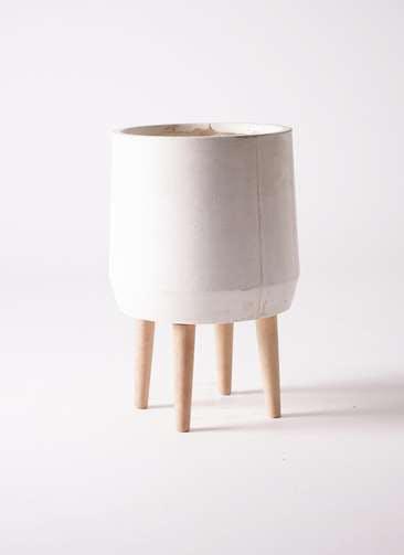 鉢カバー FiberCray(ファイバークレイ) 7号鉢用 white #stem F9854
