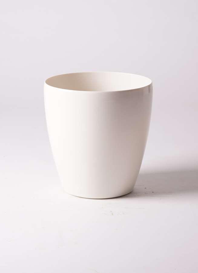 鉢カバー ラスターポット 8号鉢用 white #アップルウェア 300型