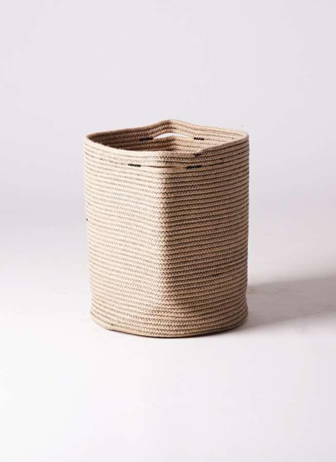 鉢カバー Rib Basket(リブバスケット) 10号鉢用 Natural #stem B5235
