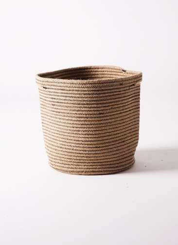 鉢カバー Rib Basket(リブバスケット) 8号鉢用 Natural #stem B5234