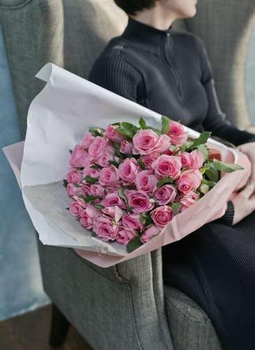 バラ 花束 ピンク L (50本入)