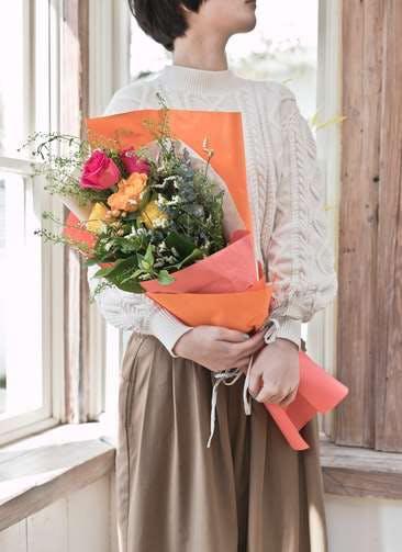 バラ 花束 ミックス S スタンダード