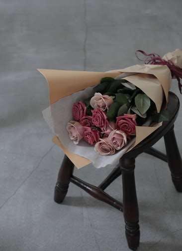 バラ 花束 ブラウン S  (12本入り)