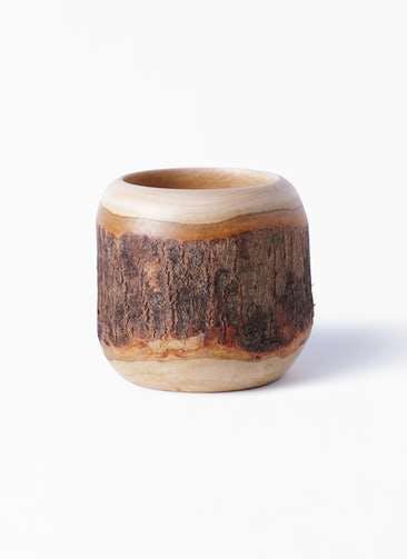 鉢カバー Mango Wood(マンゴーウッド) 3号 #stem W9711