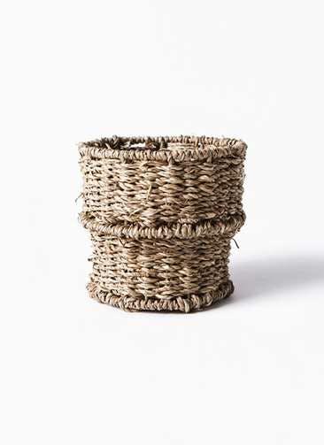 鉢カバー Basket(バスケット) 3号 #stem B2252