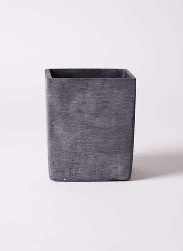 鉢カバー ポリストーン キューブ S ブラック #ASHGREY PJ0401