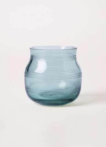 Omaggio (オマジオ) グラスキャンドルホルダー グリーン #Kahler(ケーラー) 17266