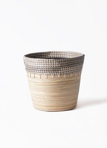 鉢カバー  アルマ コニック 8号鉢用 白 #KONTON AL-P15W33V