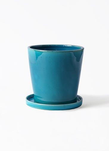 鉢カバー ベラ 5号鉢用 ブルー #ミュールミル CH-035DB