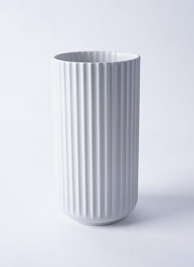 Lyngby Vase(リュンビューベース) H20cm ライトグレー #Lyngby Porcelæn 200820