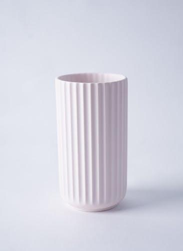 Lyngby Vase(リュンビューベース) H15cm ソフトピンク #Lyngby Porcelæn 200850
