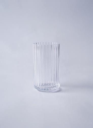Lyngby Vase(リュンビューベース) Glass H12cm クリア #Lyngby Porcelæn 201085