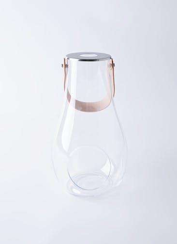 DESIGN WITH LIGHT (デザイン ウィズ ライト) LANTERN(ランタン) H29cm クリア #HOLMEGAARD 4343500