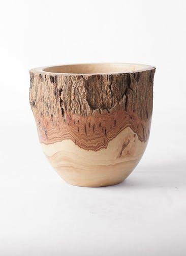 鉢カバー Mango Wood(マンゴーウッド) フラワーベース 6号鉢用 #stem W9703