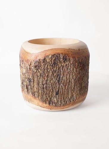 鉢カバー Mango Wood(マンゴーウッド) 2号鉢用 #stem W9710