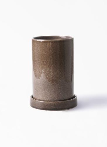 鉢カバー カームシリンダー 4号鉢用 Gray #GREENPOT HO-702-1GY