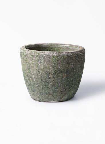 鉢カバー アビスソニアミドル 6号鉢用 緑 #KONTON AB-S01G10E