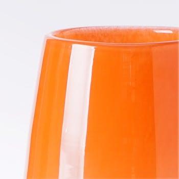 花瓶・フラワーベース オレンジ