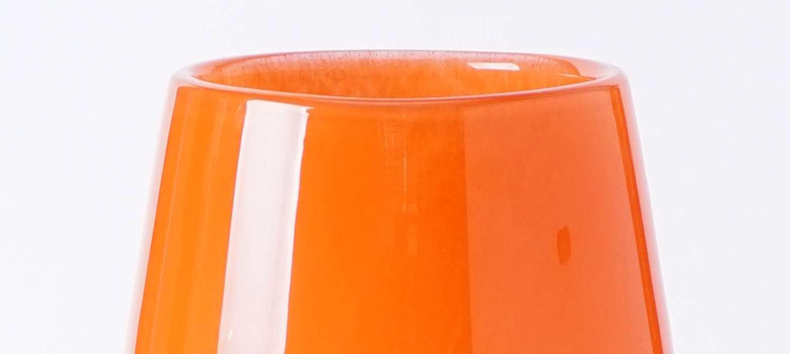 花瓶・フラワーベース オレンジ - お花と植物のギフト通販 HitoHana(ひとはな)