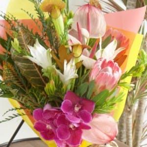 南国系 花束 ミックス