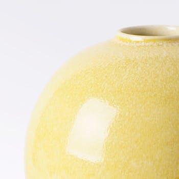 花瓶・フラワーベース 黄色